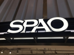 SPAO门头树脂字设计