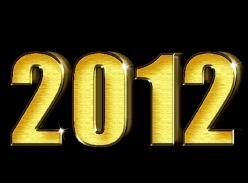 2012平面发光字