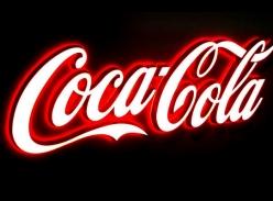 可口可乐品牌连锁迷你字