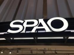 SPAO品牌连锁-门头树脂字