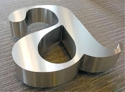 精品不锈钢立体字设计