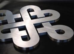 logo精品不锈钢字