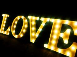 LED灯泡字